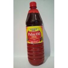 Palmový olej Lovely Africa 1l